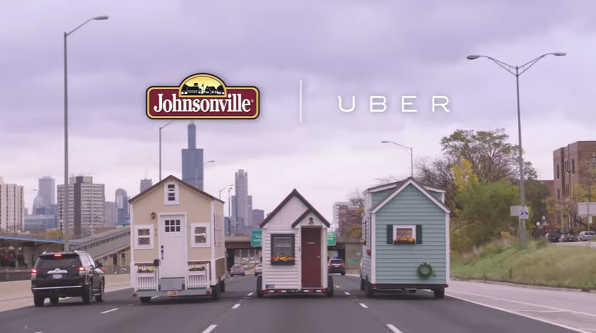 Tiny Home Builders House in Uber Commercial