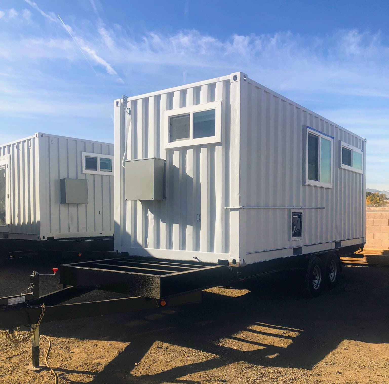 Container Homes on Trailers