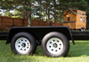 Tiny House Trailer Tandem 5200 lbs Axles