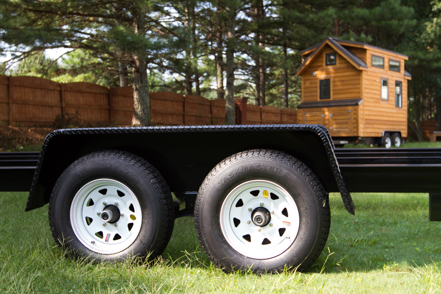 how to build a tandem axle trailer