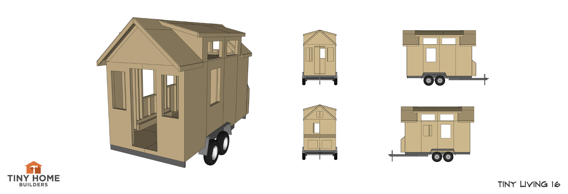 This Design Was Previously Called A 16 Foot Version Of Our Popular Tiny  Living Design ...