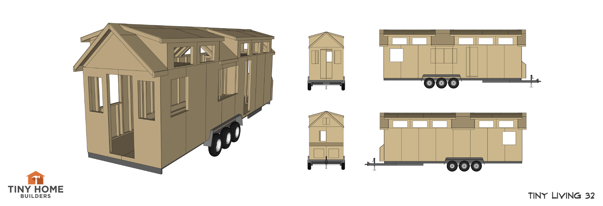 Tiny House Plans - Tiny Home Builders