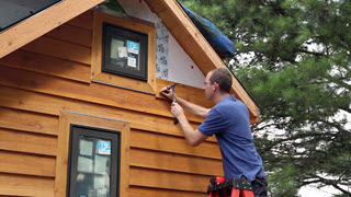 Installing the Exterior Siding - Part 4